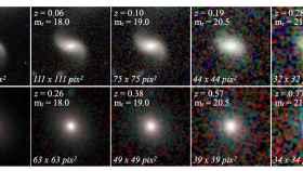 Captura del catálogo de clasificación morfológica de galaxias. Foto: J. Vega-Ferrero et al