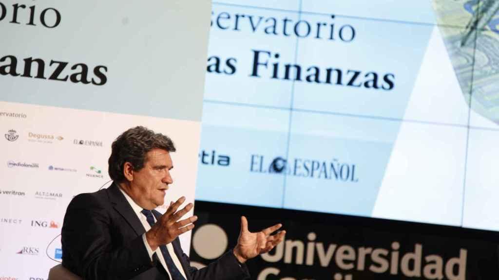 José Luis Escrivá, ministro de Inclusión, Seguridad Social y Migraciones.  (Esteban Palazuelo)