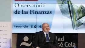 José María Méndez, director general de la Confederación Española de Cajas de Ahorro (CECA), durante el Observatorio de las Finanzas de EL ESPAÑOL.