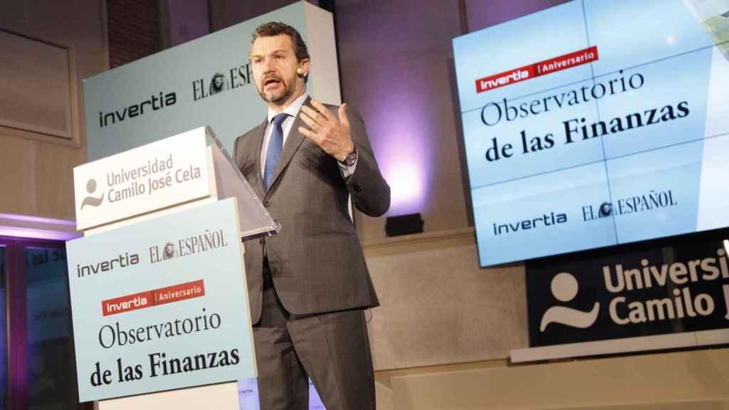 Rodrigo Buenaventura, presidente de la CNMV, en el Observatorio de las Finanzas de EL ESPAÑOL e Invertia.