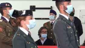 María Sol Rodríguez, primera mujer en el GAR, el grupo de élite de la Guardia Civil