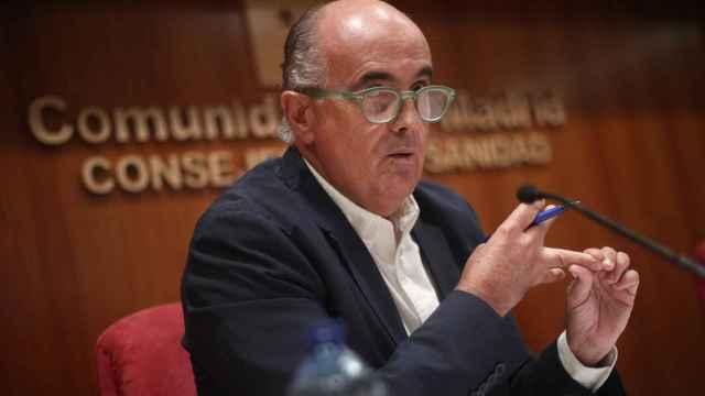 Antonio Zapatero, viceconsejero de Salud Pública de la Comunidad de Madrid.