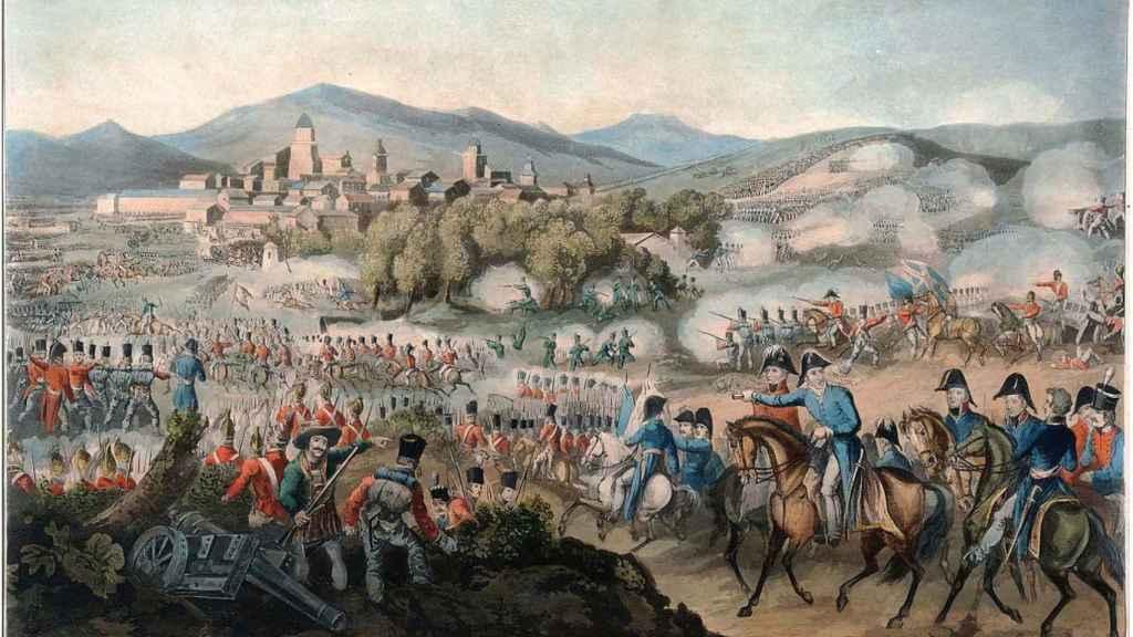 Batalla de Vitoria, escenario en el que combatió Martina Ibaibarriaga.