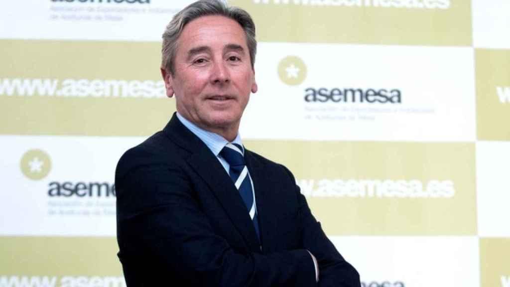 El secretario general de la Asociación Española de Exportadores e Industriales de Aceituna de Mesa, Antonio de Mora.