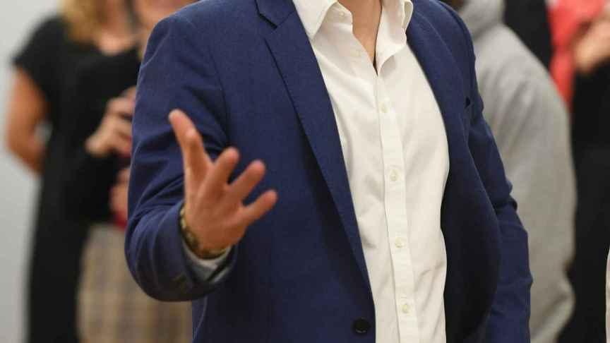Harry durante un acto del Día de la Salud Mental del año 2019.