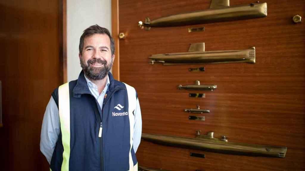 Germán Romero, director de ingenieros del astillero murciano, este pasado martes.