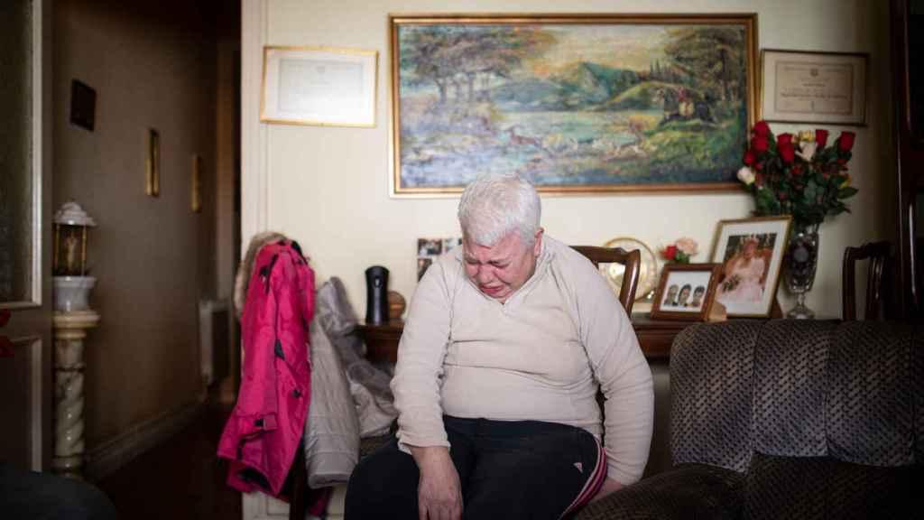 Begoña San José tiene diagnosticada una discapacidad del 77%.
