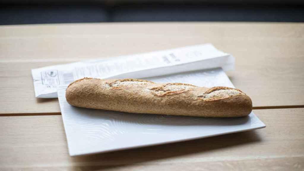 La barra de pan integral de Mercadona.