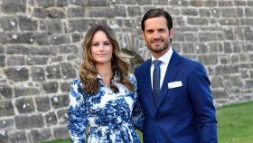 Carlos Felipe y Sofía de Suecia en una imagen de archivo.