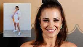 Paula Echevarría y su último 'look' en Instagram en un montaje de JALEOS.