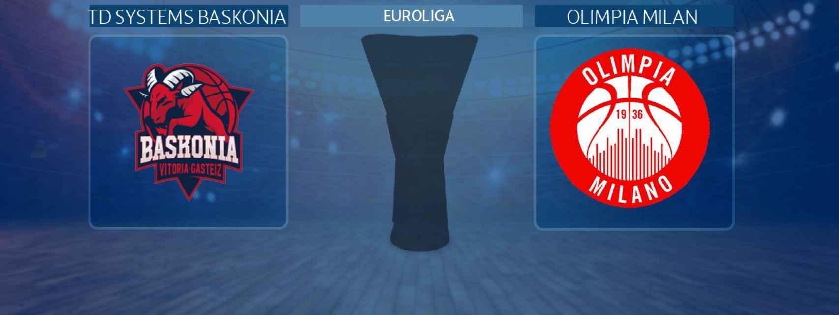 TD Systems Baskonia - Olimpia Milan, partido de la Euroliga