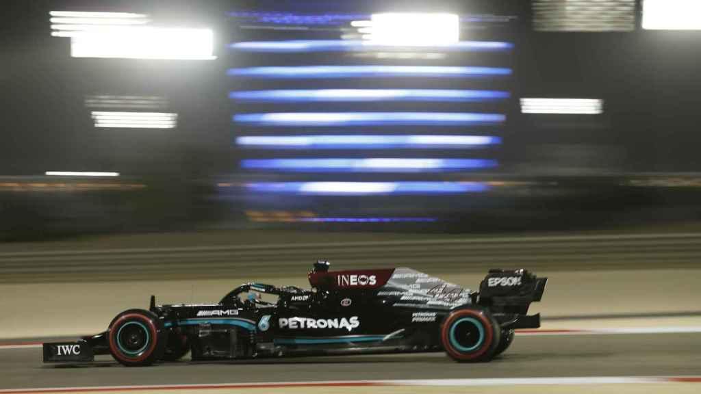 Hamilton en el Gran Premio de Bahrein 2021