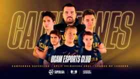 UCAM Esports Club, campeón de la Superliga 2021