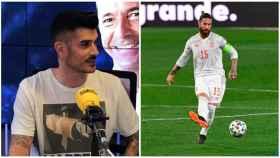 Álvaro Benito y Sergio Ramos, en un collage