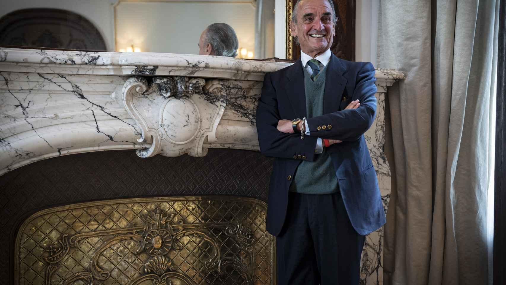 Mario Conde vuelve a su despacho de Banesto 28 años después
