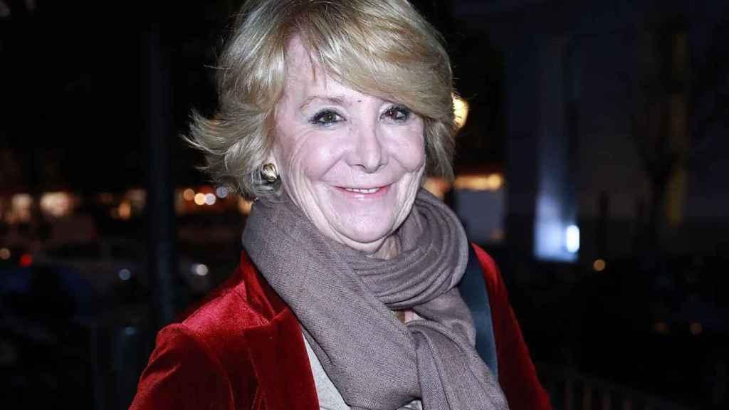 Esperanza Aguirre./