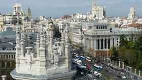 Vista panorámica de la ciudad de Madrid. FOTO: Pixabay.