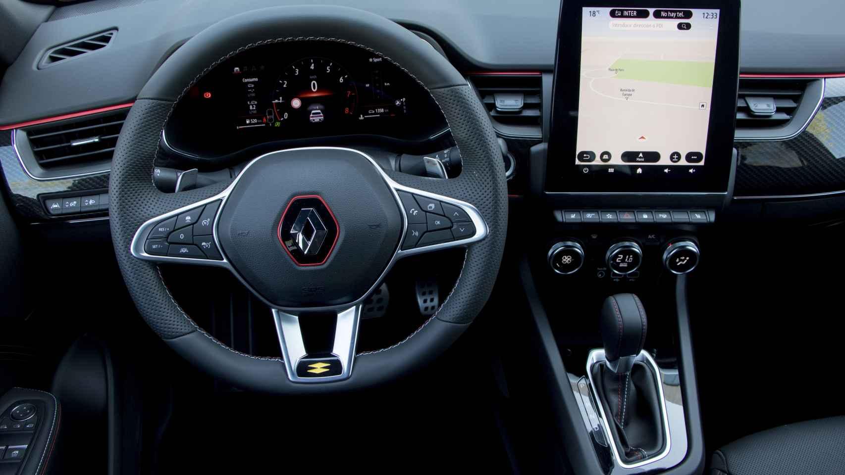 Todas las fotos del nuevo Renault Arkana, el SUV coupé que destaca por diseño y precio