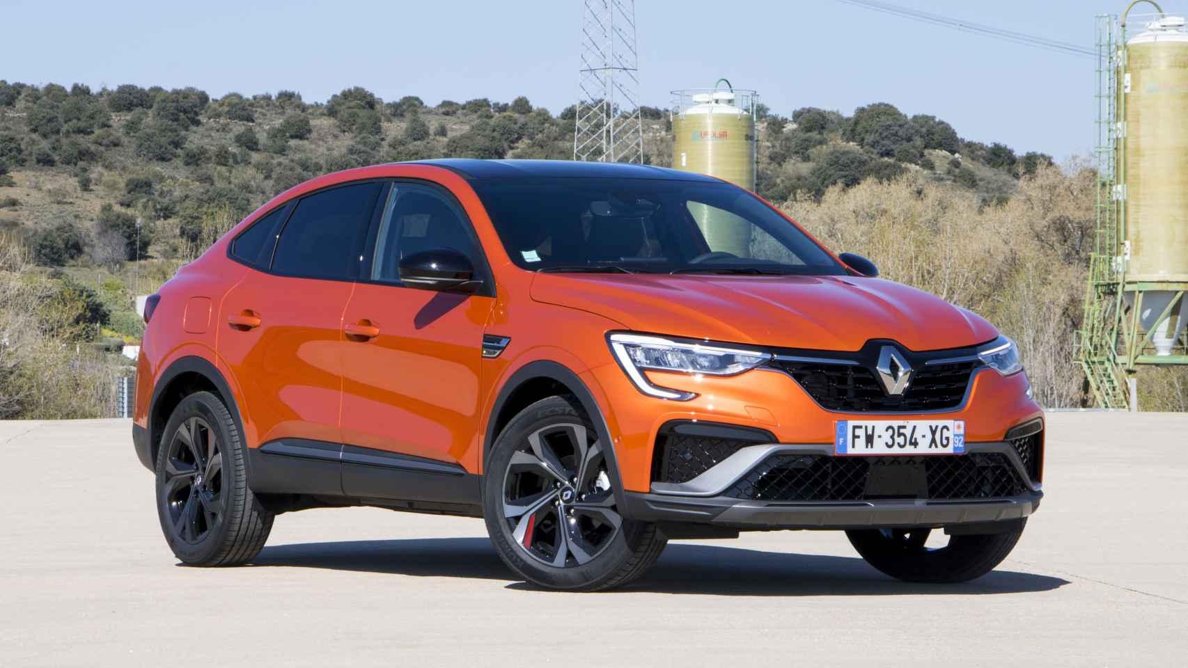 Imagen del nuevo Renault Arkana.