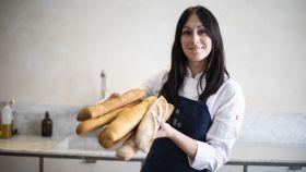 Los seis barras de pan integral probadas por Celia Mora-Rey, cocinera y profesora de la escuela El Gusto es nuestro.
