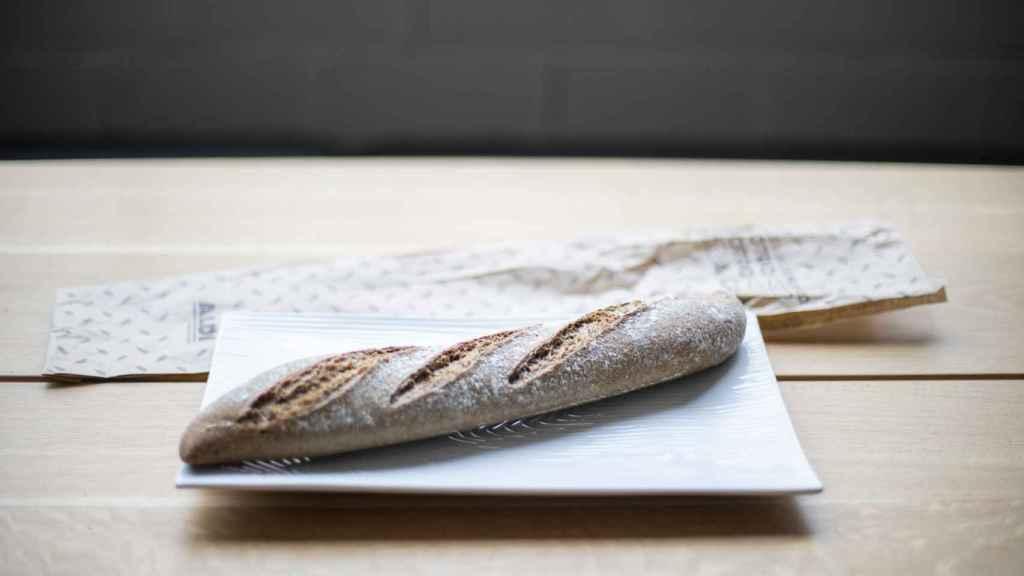 La barra de pan integral de Aldi.