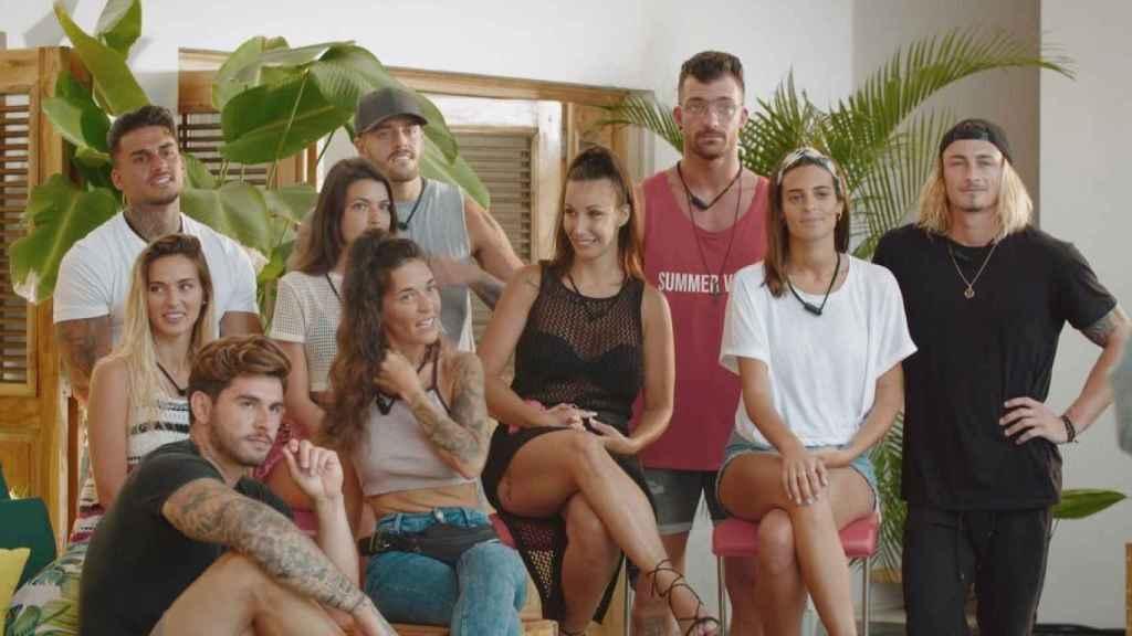 Concursantes de la primera edición de 'La isla de las Tentaciones'