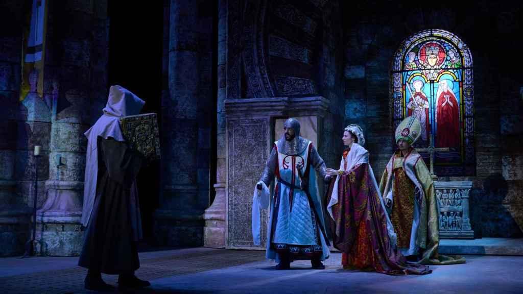 Escena del espectáculo 'El último Cantar'.