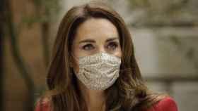 Kate Middleton, durante una visita al hospital San Bartolomé, en Londres.