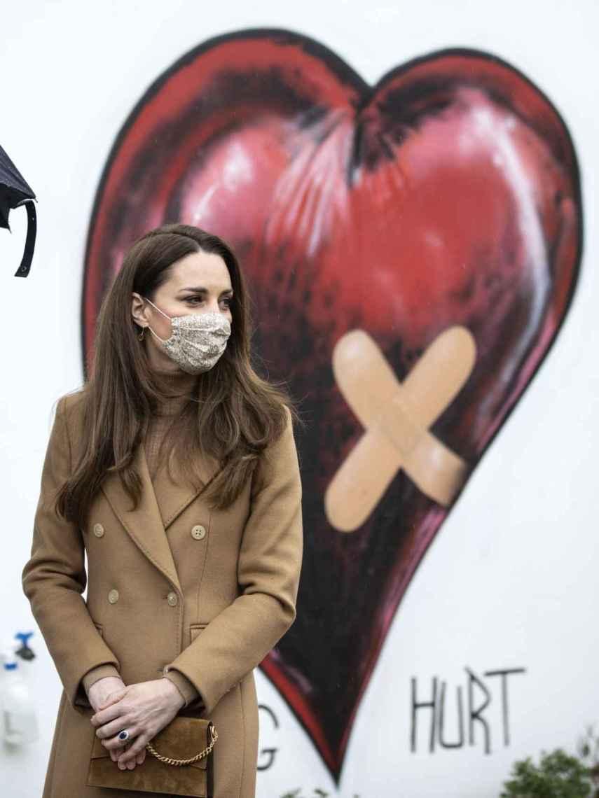 Kate Middleton, durante uno de sus últimos actos en Londres.