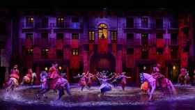 Escena del espectáculo 'A pluma y espada'.