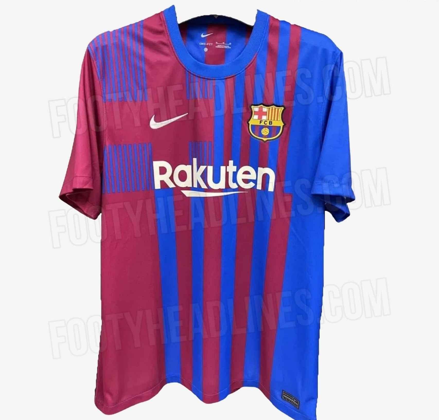 FC Barcelona - 1ª equipación