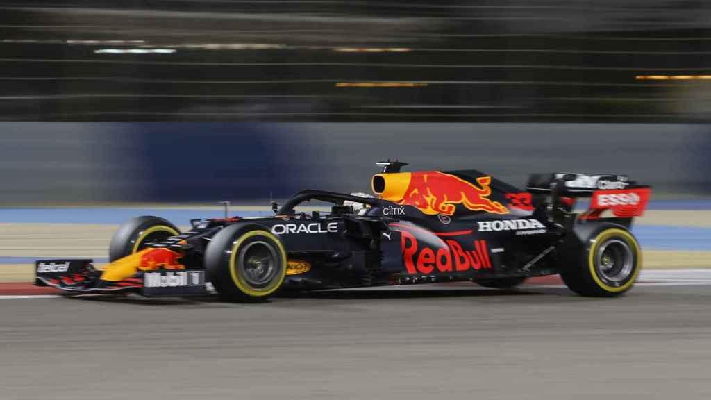 Verstappen en el Gran Premio de Bahrein