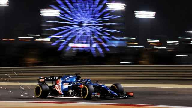 Fernando Alonso en el Gran Premio de Bahrein