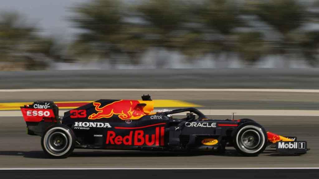 Max Verstappen, en el circuito de Baréin
