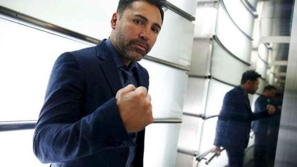 El boxeador Óscar de la Hoya