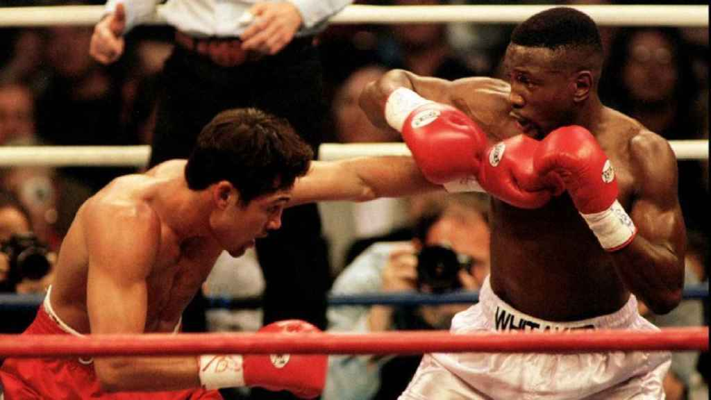 De la Hoya contra Pernell Whitaker
