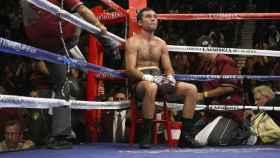 Óscar de la Hoya en un combate
