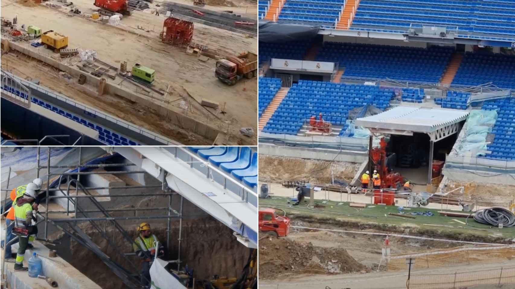 El interior del nuevo Santiago Bernabéu va tomando forma: así es su increíble transformación