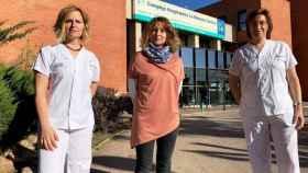 ugenia Núñez, Sonia Almodóvar y Estefanía Castellanos