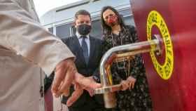 Page ha inaugurado este viernes el nuevo espacio para autocaravanas en Villanueva de los Infantes