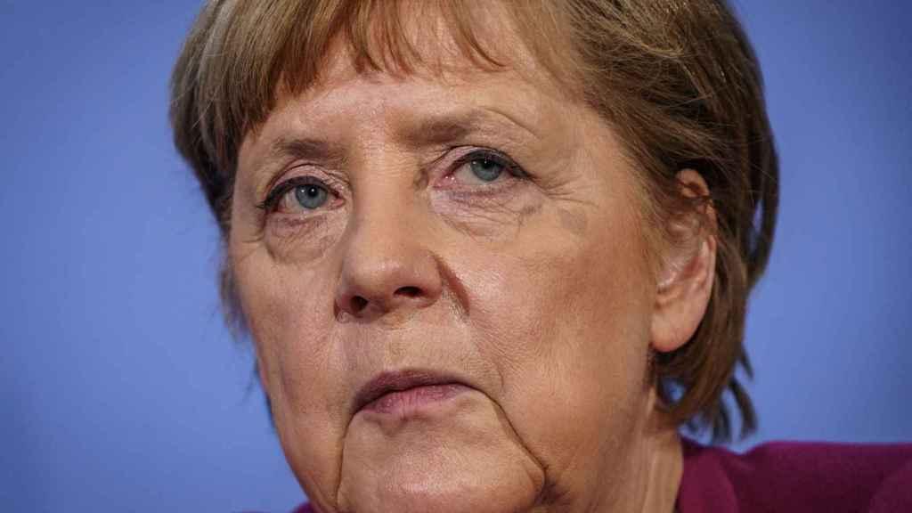 Angela Merkel, tras una reunión con los líderes de la UE.
