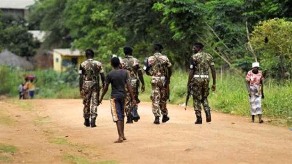 Militares de Mozambique en una imagen de archivo.