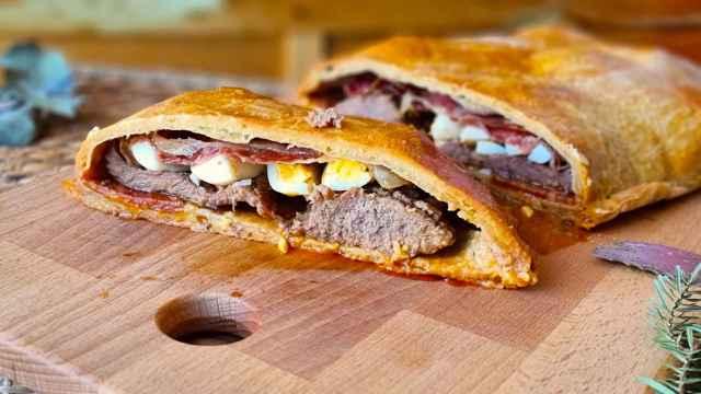 Hornazo salmantino, una empanada de cerdo 100% para Semana Santa