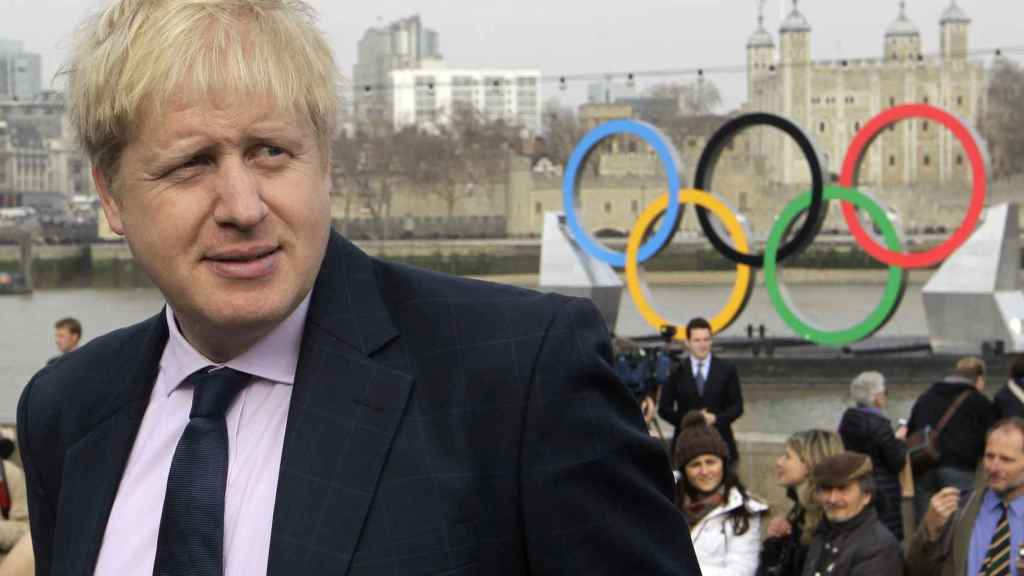 Boris Johnson, en 2012, cuando era alcalde de Londres.