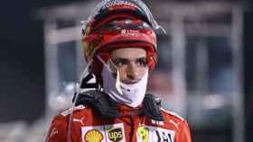 Carlos Sainz en el Gran Premio de Bahrein de Fórmula 1