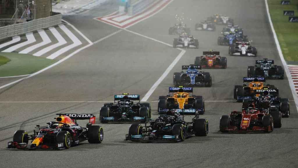 Verstappen lidera el Gran Premio de Bahrein de Fórmula 1