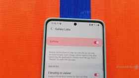 Cómo activar el menú oculto de la galería de Samsung