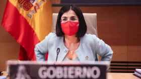 La ministra de Sanidad, Carolina Darias, en una imagen de archivo (EP)