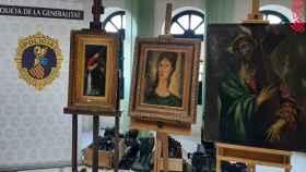 Las tres obras de arte que el coleccionista toledano pretendía vender como originales sin serlo