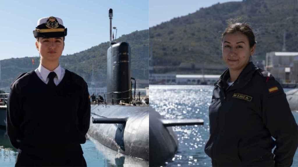 Laura y Fany, la primera mujer oficial y la única torpedista.